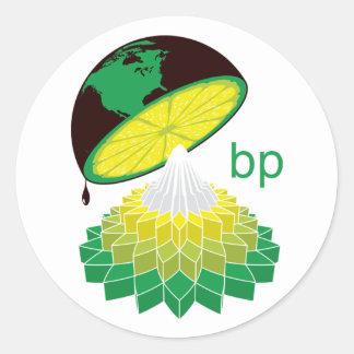 BP Logo Veresion 1 (Sticker) Round Sticker