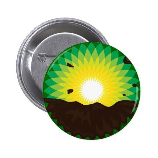 BP Oil Spill 6 Cm Round Badge