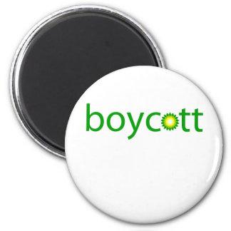 BP Oil Spill Boycott 6 Cm Round Magnet
