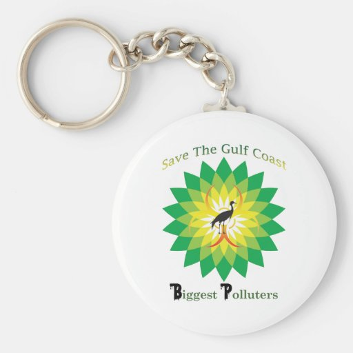 BP Oil Spill Keychains