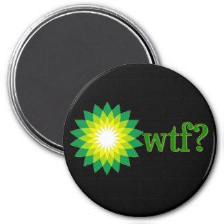 BP OIL SPILL WTF REFRIGERATOR MAGNET