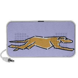 BQ- Awesome Running Greyhound Speaker