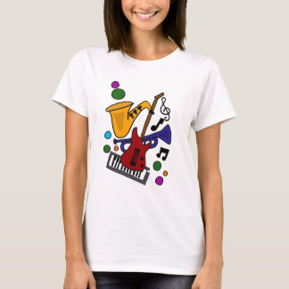 BR- Awesome Music Art Design T-Shirt