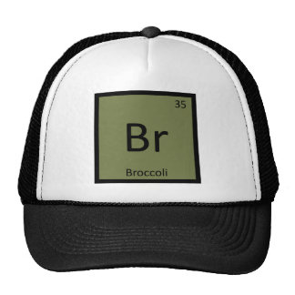 Br - Broccoli Vegetable Chemistry Periodic Table Cap