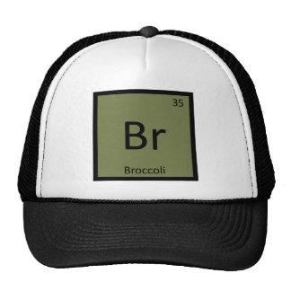 Br - Broccoli Vegetable Chemistry Periodic Table Cap