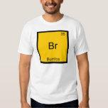 Br - Burritos Chemistry Element Symbol Funny Tshirts