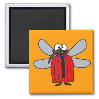 BR- Funny Mosquito Vampire Magnet