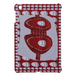 Bra Couture Fashion Red Silk Graphic FUN Wedding iPad Mini Cover