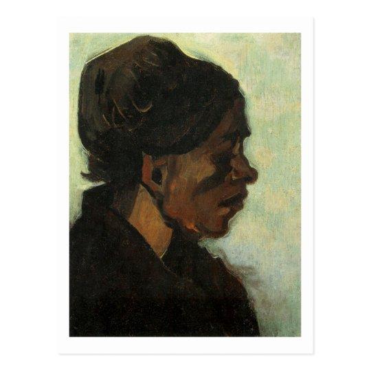 Brabant Peasant Woman Dark Cap, Vincent van Gogh Postcard