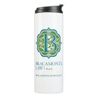 Bracamonte Law Firm Thermal Tumbler