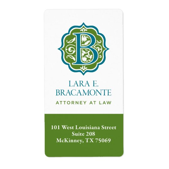 Bracamonte Return Address Label