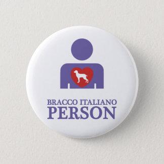 Bracco Italiano 6 Cm Round Badge