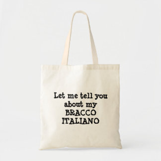 BRACCO ITALIANO BUDGET TOTE BAG