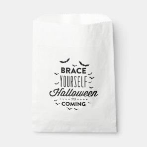 BRACE YOURSELF HALLOWEEN Halloween Favour Bag