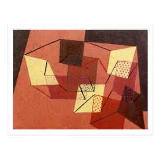 Braced Surfaces by Paul Klee Postcard
