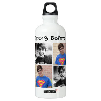 #BraceFace before & After<3 SIGG Traveller 0.6L Water Bottle