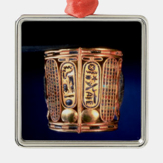 Bracelet with the cartouche of Psusennes I Christmas Ornament