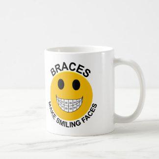 Braces Make Smiling Faces Coffee Mug