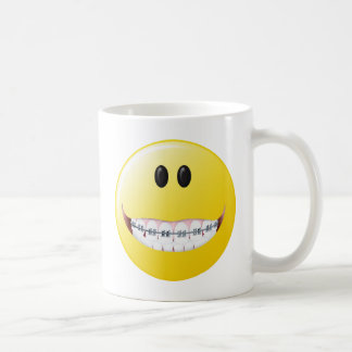 Braces Smiley Face Coffee Mug