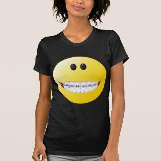 Braces Smiley Face T-shirt