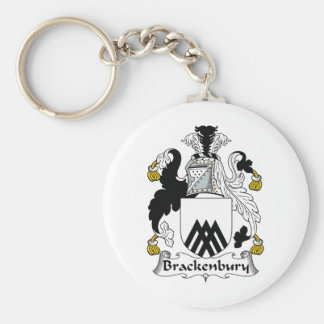 Brackenbury Family Crest Keychain
