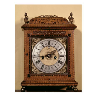 Bracket clock, c.1700 postcard
