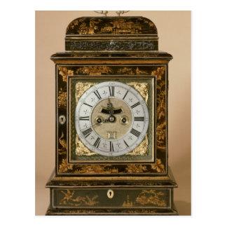 Bracket clock, movement by James Boyce, c.1705 Postcard