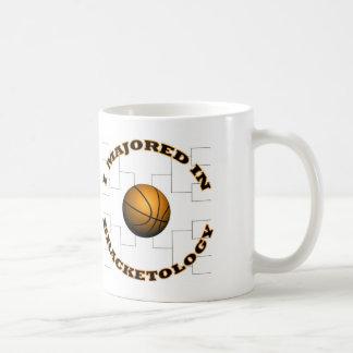 Bracketology 2 basic white mug