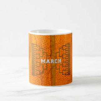 Bracketology March Basketball Tournament Coffee Mugs