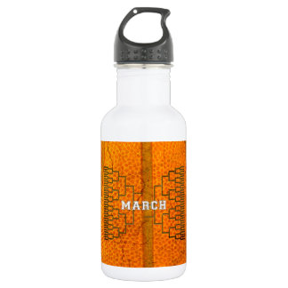 Bracketology March Basketball Tournament 532 Ml Water Bottle
