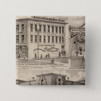 Brackett's Block, Minnesota 15 Cm Square Badge