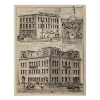 Brackett's Block, Minnesota Poster