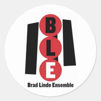 Brad Linde Ensemble Round Sticker