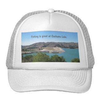 Bradbury Dam at Cachuma Lake Near Santa Ynez Mesh Hat