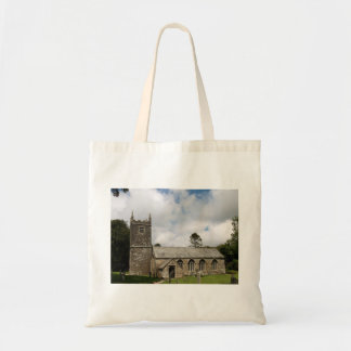 Braddock Church Cornwall England Tote Bag