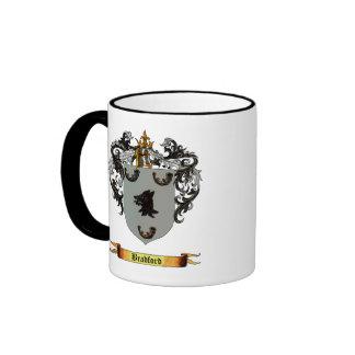 Bradford Coat of Arms Ringer Coffee Mug