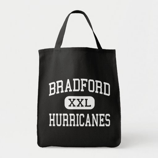 Bradford - Hurricanes - Middle - Starke Florida Grocery Tote Bag
