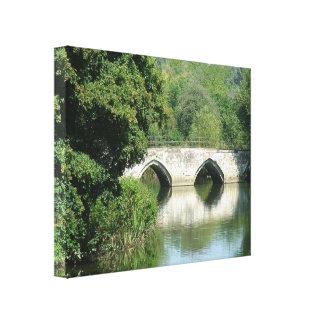 Bradford on Avon - Stretched Canvas Print