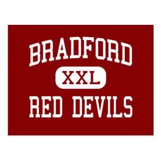 Bradford - Red Devils - High - Kenosha Wisconsin Postcard