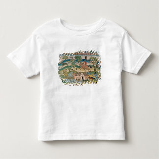 Bradford Table Carpet, detail of scenes of rural l Toddler T-Shirt