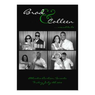 bradinvite 13 cm x 18 cm invitation card