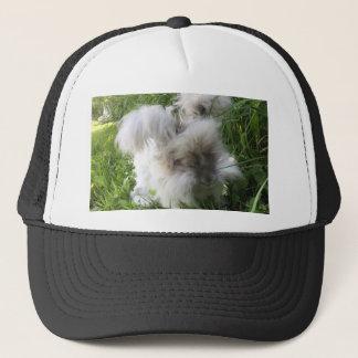 """Bradley"" English Angora Rabbit Trucker Hat"