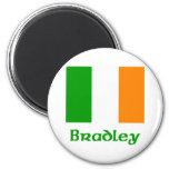 Bradley Irish Flag Magnets