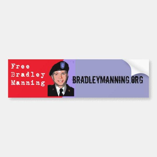 Bradley Manning Bumper Sticker