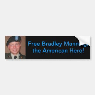 bradley-manning, Free Bradley Bumper Sticker