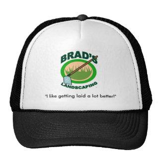 Brad's Landscaping Cap
