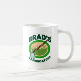 Brad's Landscaping Extract Movie Basic White Mug