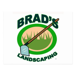 Brad's Landscaping Extract Movie Postcard