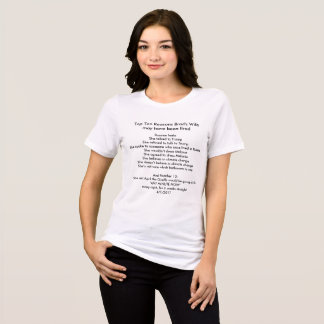 Brad's Wife and AprilTheGiraffe T-Shirt