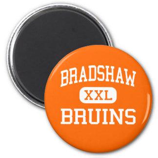 Bradshaw - Bruins - High School - Florence Alabama 6 Cm Round Magnet